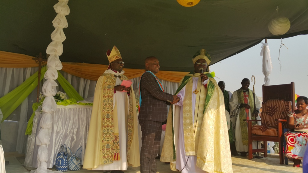 Consecration of Bp Sabiti
